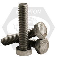 HEX TAP BOLT A307 GRADE A COARSE LOW CARBON PLAIN