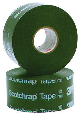 Scotchrap All-Weather Corrosion Protection Tapes 51, 100ft X 4in, 20 mil, Black
