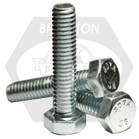 HEX TAP BOLT A307 GRADE A COARSE LOW CARBON ZINC CR+3