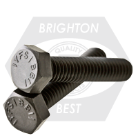 GRADE 5 HEX TAP BOLTS MED. CARBON PLAIN