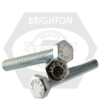 GRADE 5 HEX TAP BOLTS MED. CARBON ZINC CR+3