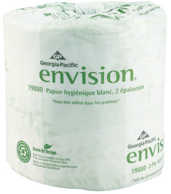 Envision Bathroom Tissue, 4.05 in x 4 in, 185.625 ft, 80 per case