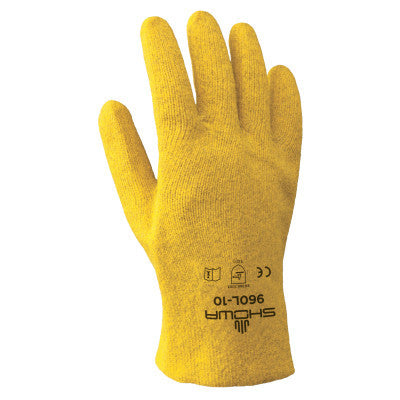 Best KPG Work Gloves, Medium, Yellow | KPG PVC Coated Gloves, Medium, Yellow