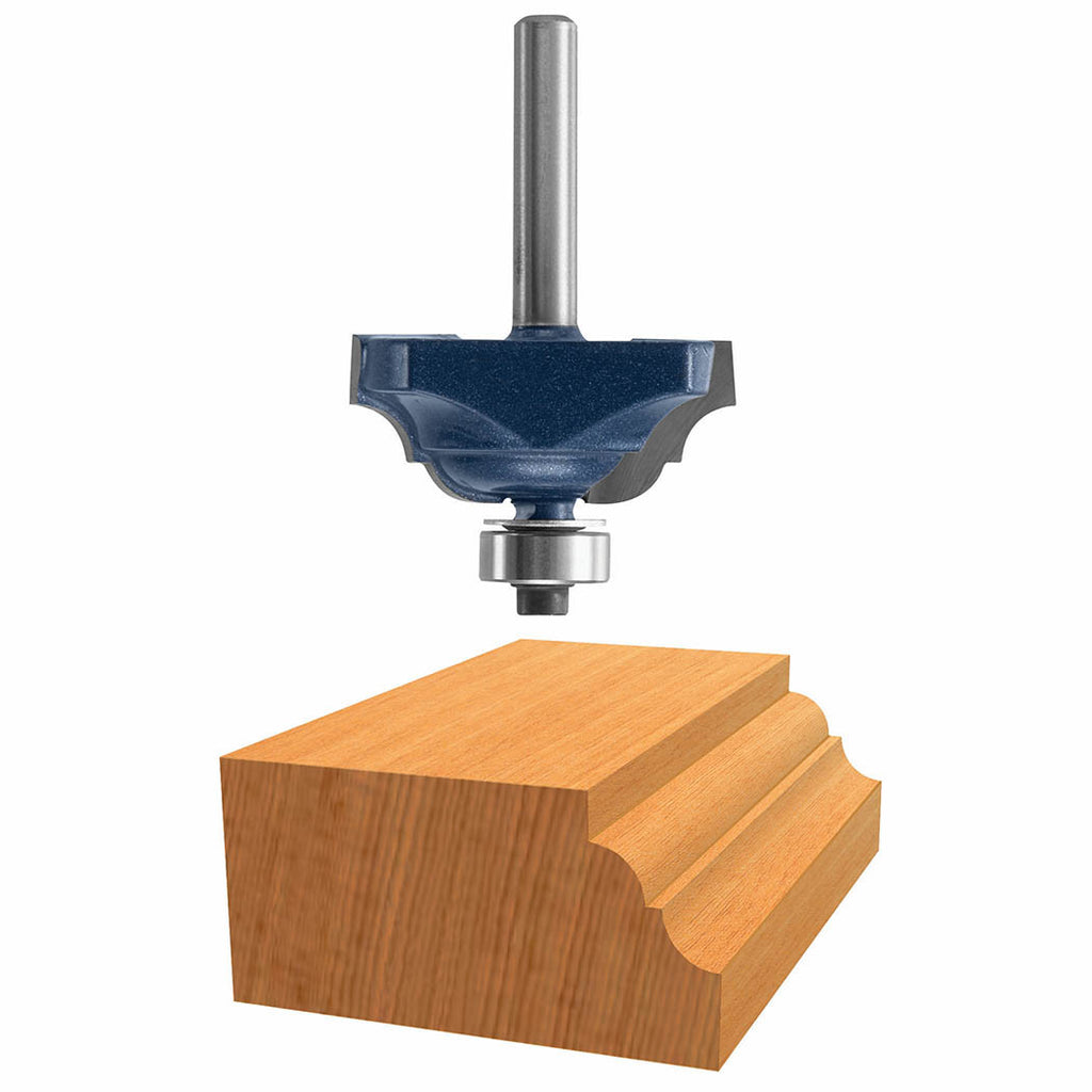 1-1/4 In. Double Flute Classical Router Bit