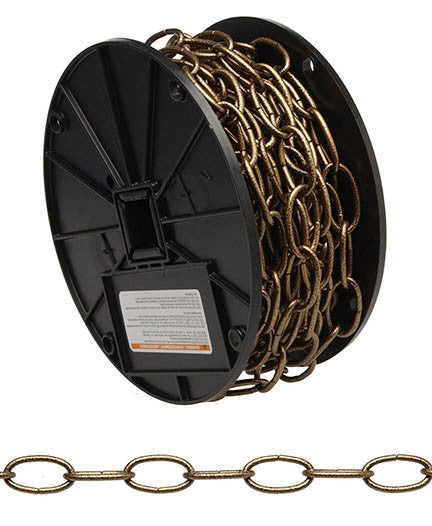 #10 Decorator Chain, Black, 40' per Reel