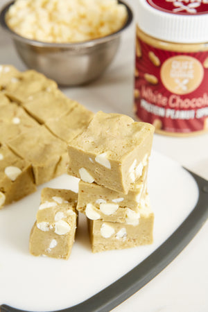 Protein White Chocolate Fudge