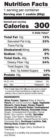 Chocolate Donut Nutrition Facts