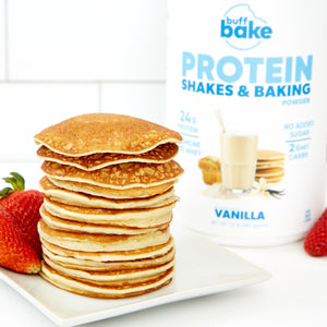 Vanilla Protein Shakes & Baking Powder -  - Buff Bake