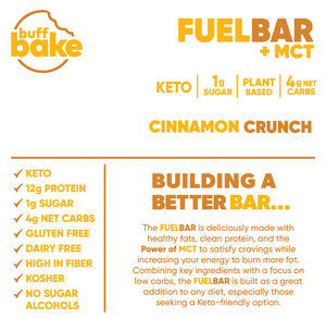 Cinnamon Crunch Fuel Bar -  - Buff Bake