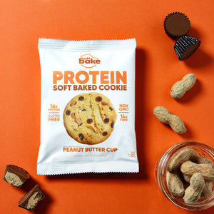 Buff Bake Soft Baked Protein Cookie, Peanut Butter Cup, Ingredients