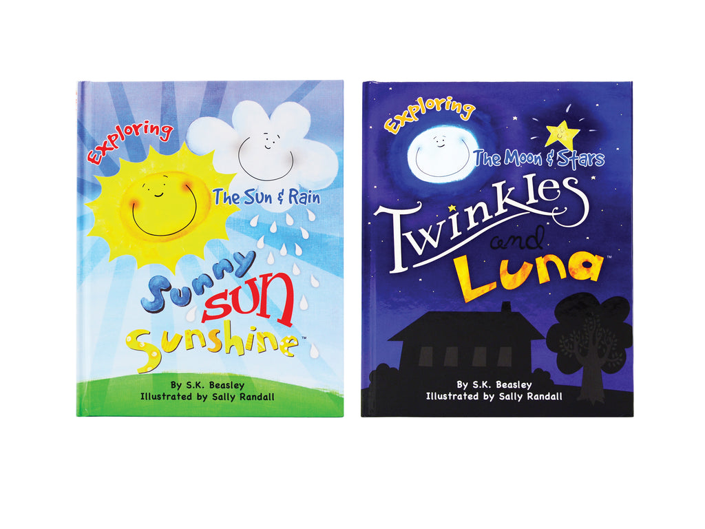 My First Impressions Series Twinkles & Luna and Sunny Sun Sunshine Children's Storybooks Set of 2 by Stephanie Beasley