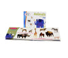 Brainy Baby® Animals Apes to Zebras Board Book, Flashcards & DVD Collection for Preschool Children