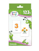 Brainy Baby Teach Your Child 123s Introducing Numbers 1 to 20 Board Book, Flashcards and DVD Set