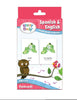 Brainy Baby Teach Your Child Spanish and English Simple Words and Phrases Flash Card Set
