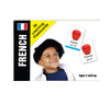 Bilingual Baby Learn French Language DVD and French Language Flashcards Set