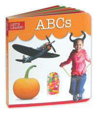 Let's Learn ABC Board Book