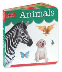 Let's Learn Animals Board Book | Learning Animals