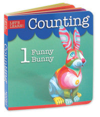 Let's Learn Counting Board Book | Learning 123s