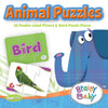 Brainy Baby Teach Your Child About Animals Puzzle Matching Game