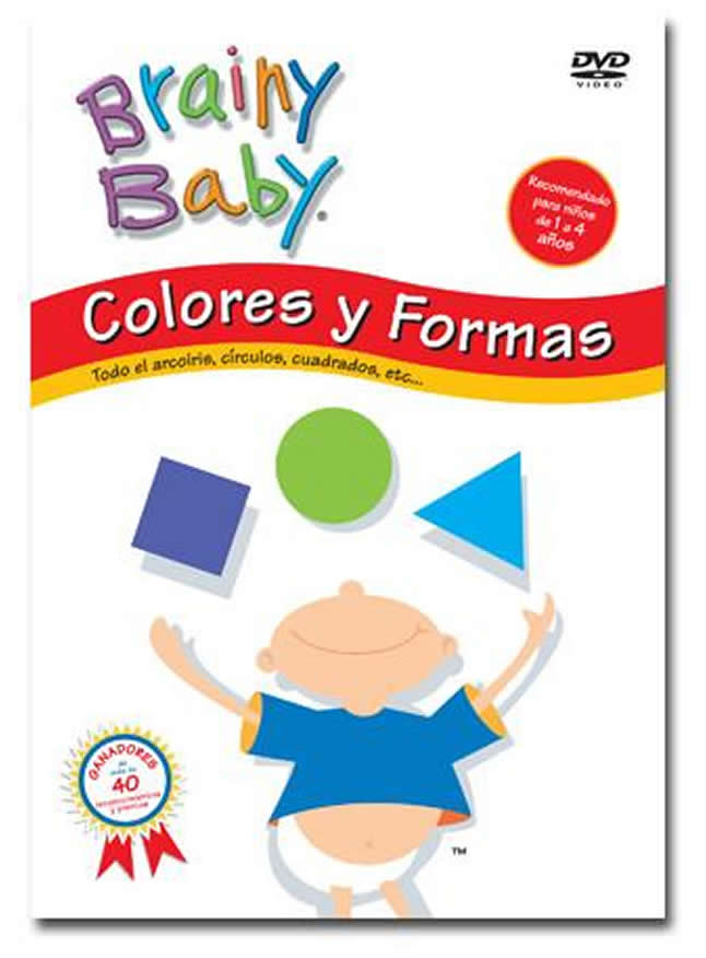 Brainy Baby Colores y Formas (Classic) - Spanish