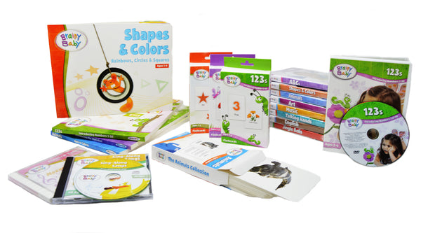 Brainy Baby All In One Preschool Learning For a Lifetime System: 9 Subjects