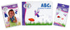 Brainy Baby Teach Your Child ABCs Learning Library: Introducing the Alphabet Board Book, Flashcards and DVD Deluxe Edition