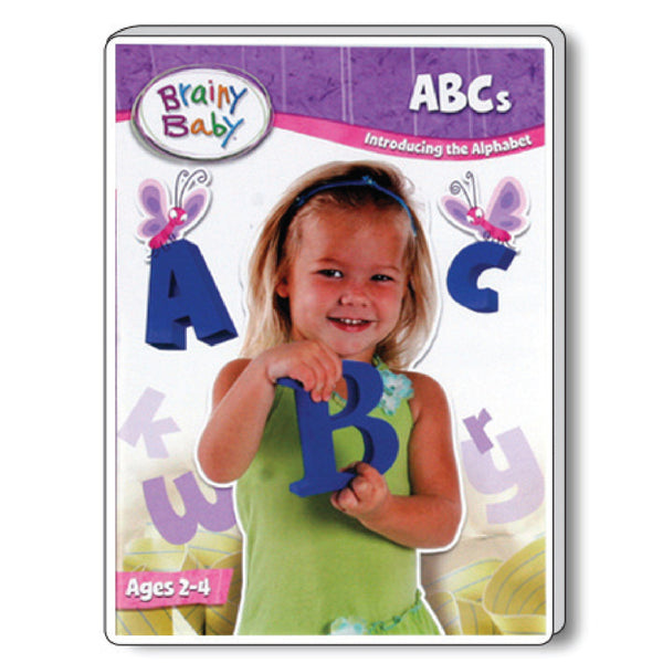 Brainy Baby Teach Your Child ABCs: Introducing the Alphabet A to Z DVD Deluxe Edition