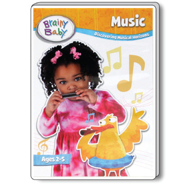Brainy Baby Teach Your Child Music: Discovering Musical Horizons DVD Deluxe Edition