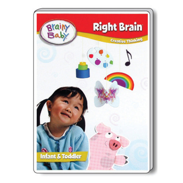 Brainy Baby Right Brain Infant Brain Development: Inspiring Creative Thinking DVD