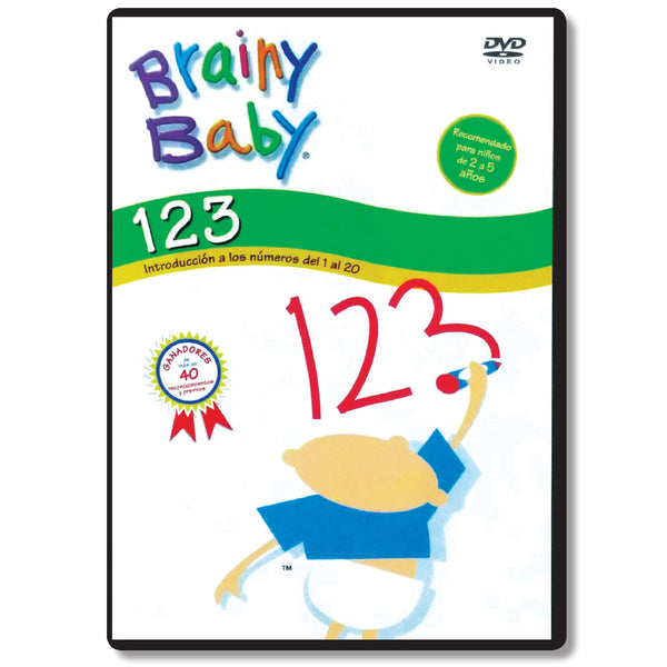 Brainy Baby Teach Your Child 123s: IntroduccioÌn a los nuÌmeros del 1 al 20 DVD Spanish