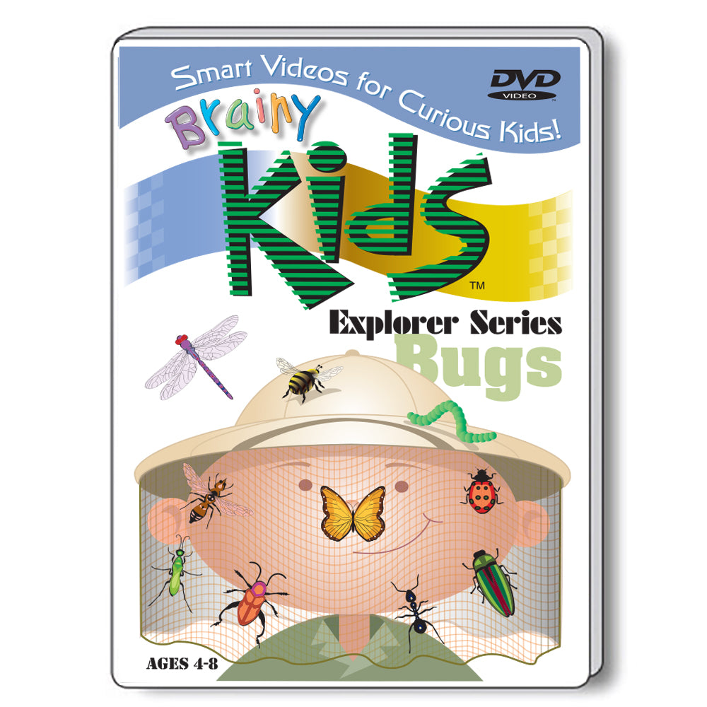 Brainy Kids Explorer DVD Series - BUGS