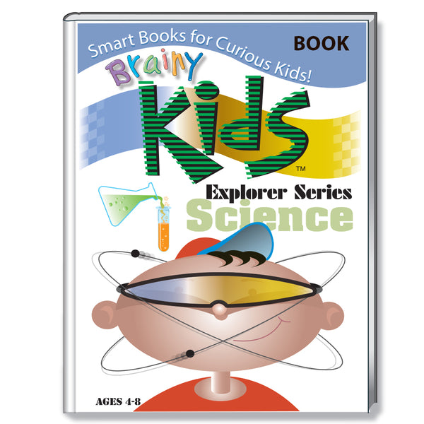 Brainy Kids Explorer Book Series - SCIENCE