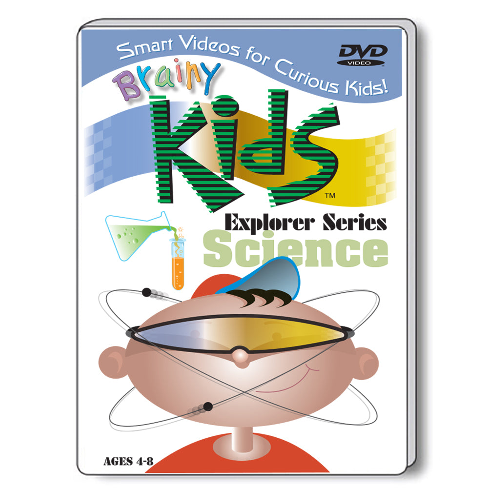 Brainy Kids Explorer DVD Series - SCIENCE
