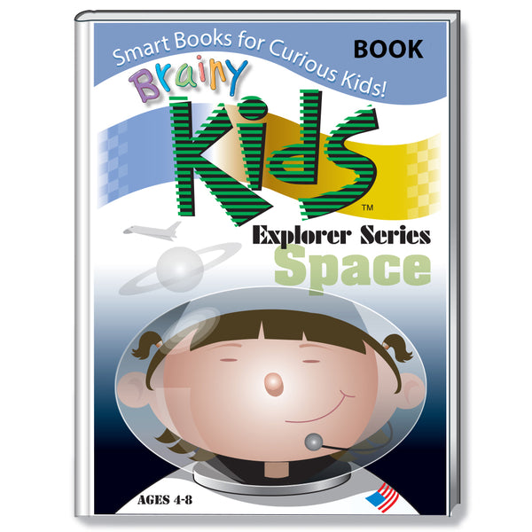 Brainy Kids Explorer Book Series - SPACE