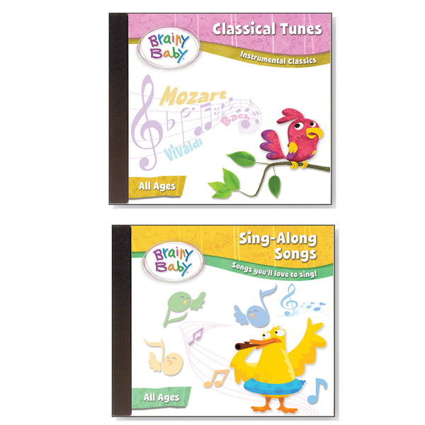 Brainy Baby Sing Along Songs and Classical CDs: Songs You'll Love to Sing and Instrumental Classics