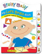Left Brain Analytical Thinking Classic Tab Board Book