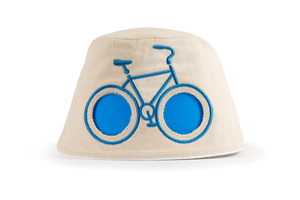COOEEE Blue Bike Sunglasses Hat | Fun Baby Gifts