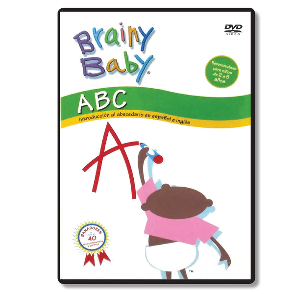 Brainy Baby Teach Your Child ABCs: Introducing the Alphabet Spanish Version DVD Classic Edition