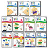 Brainy Baby ABCs, 123s, Colores y Formas and more: 11 DVDs Spanish Version