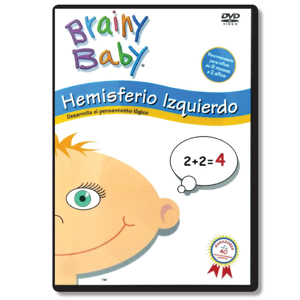 Brainy Baby Infant Brain Development DVD: Hemisferio Izquierdo  Logical Thinking DVD Spanish Version