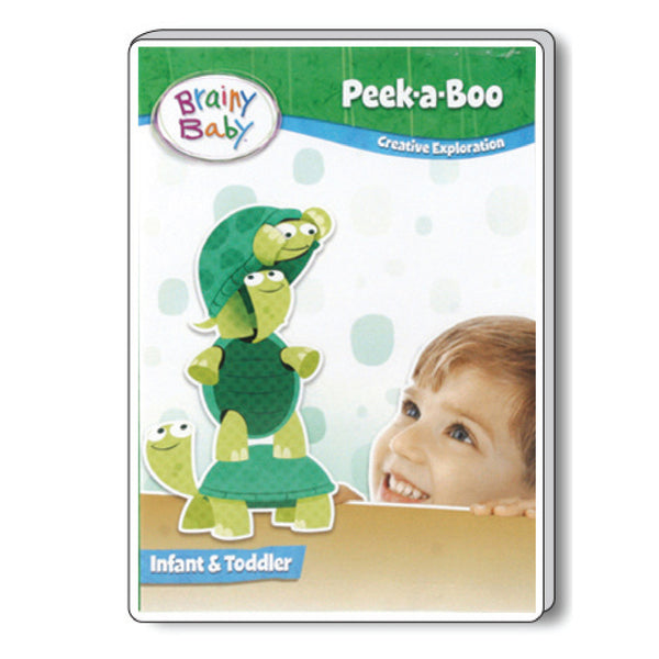 Brainy Baby Peek A Boo: Creative Exploration Infant Brain Development DVD Deluxe Edition