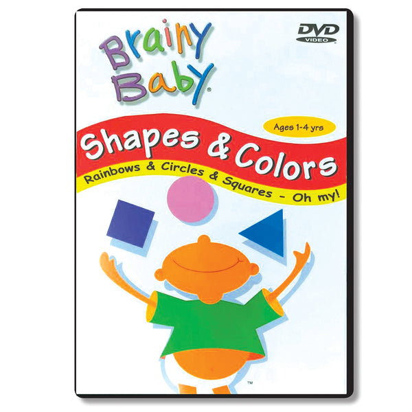 Brainy Baby Shapes & Colors: Rainbows, Circles and Squares Oh My! DVD
