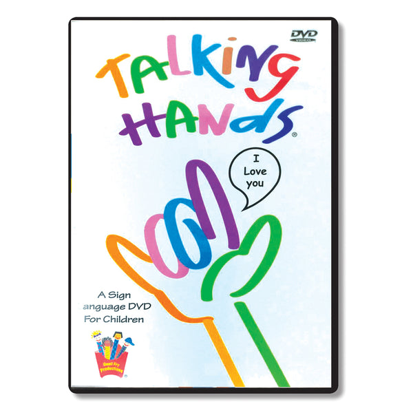 Brainy Baby Teach Your Child Sign Language: Talking Hands DVD Classic Edition