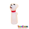 polar bear finger puppet