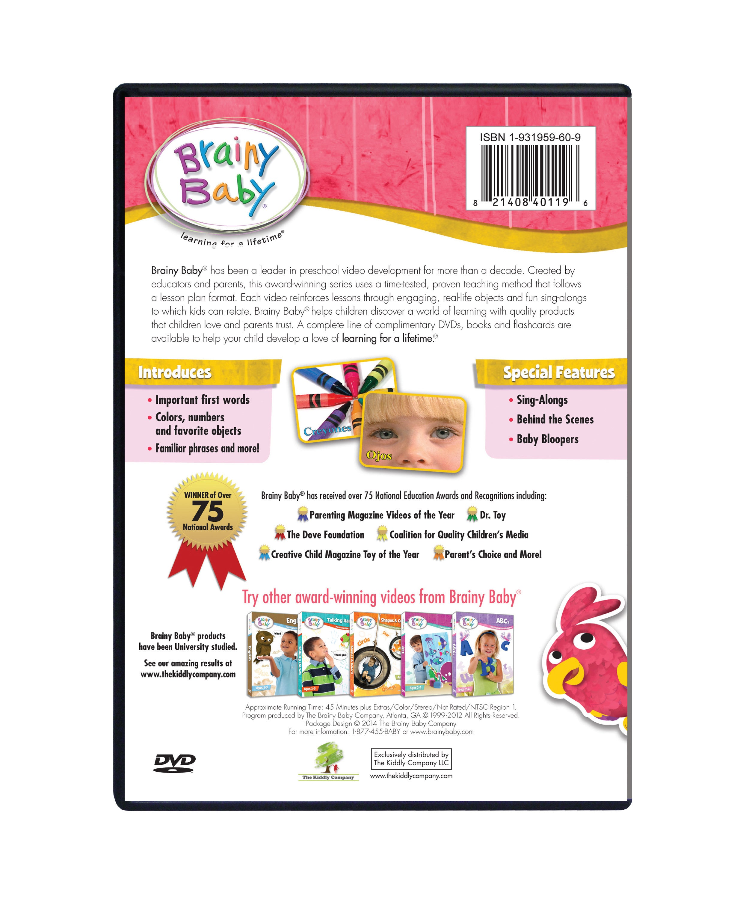 Spanish for Kids | 4 DVD Learning System