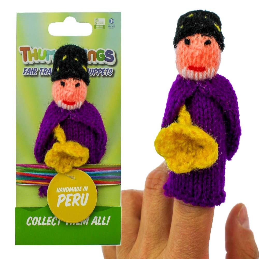 the wizard finger puppet