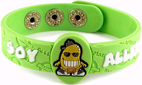 Allermates® SOY Allergy Wristband