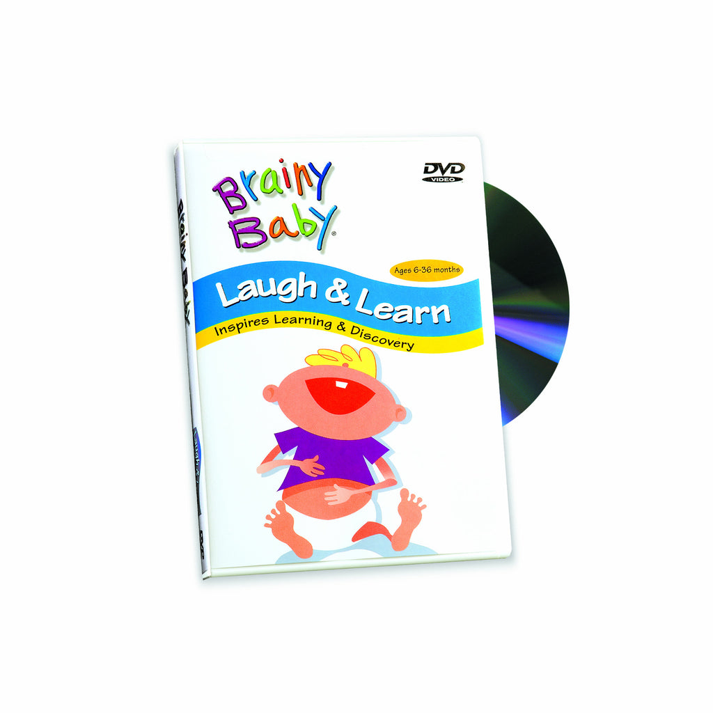 Laugh & Learn DVD | Brainy Baby Laugh & Learn