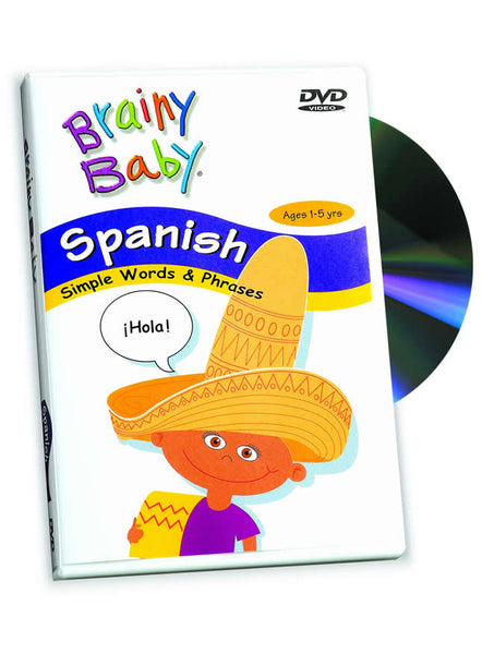 Spanish DVD | Learning Spanish Simple Words
