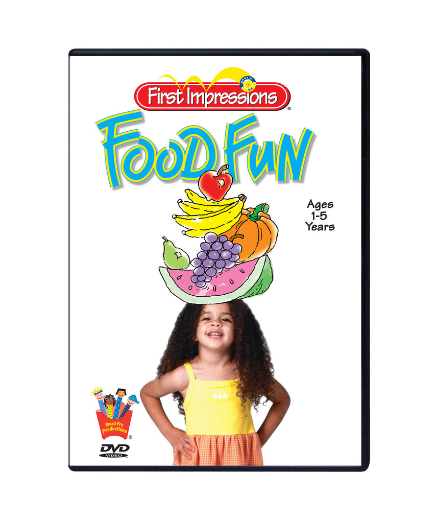 Baby's First Impressions®Food Fun Manners and Nutrition DVD